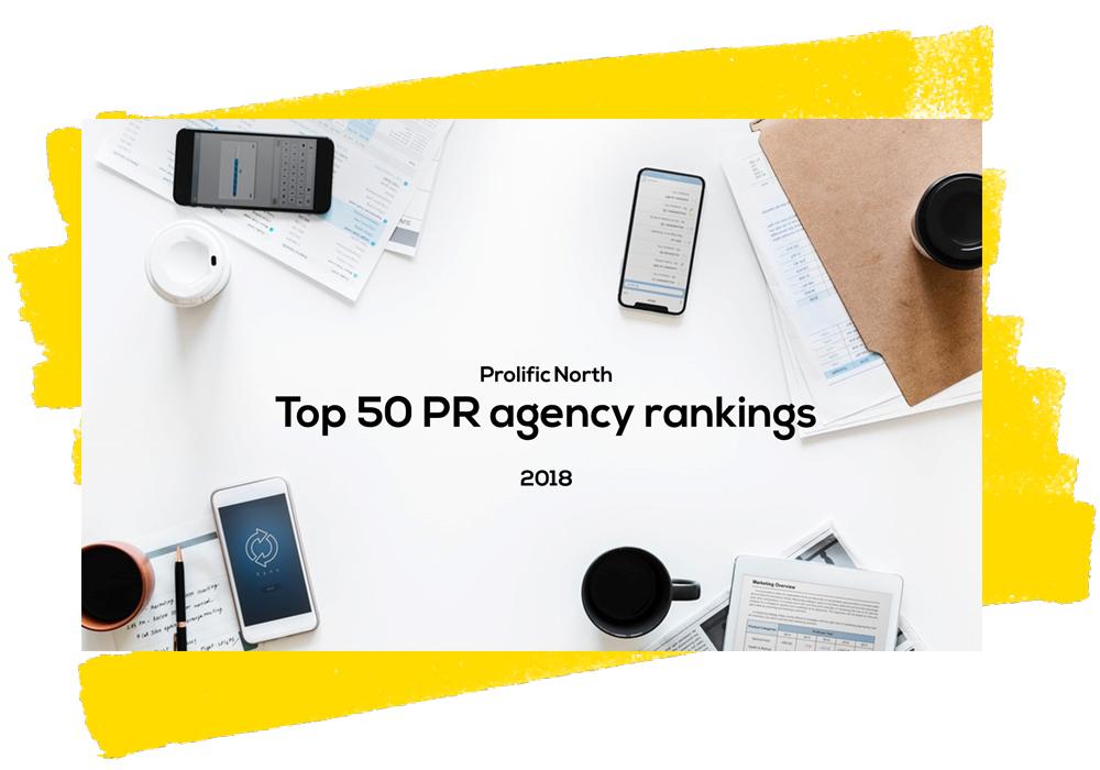Top 50 PR 2018